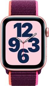 Watch SE LTE 44mm Gold Aluminium Plum Sport Loop Smartwatch Apple 785300155522 Bild Nr. 1