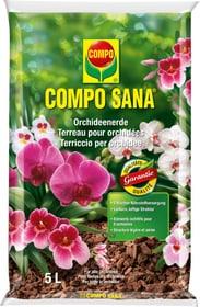 Orchideenerde, 5 l Spezialerde Compo Sana 658107800000 Bild Nr. 1