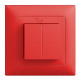 Friends of hue Funk-Wandtaster EDIZIOdue Pulsante wireless Feller 612237900030 Colore rosso N. figura 1