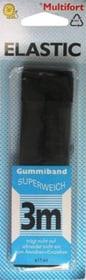 Élastique souple noir 14mm x 3m