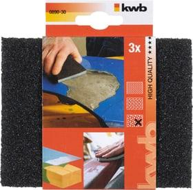Schleifschwamm HOLZ & METALL, grob 3 Stk. kwb 610508400000 Bild Nr. 1