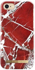 Back Cover Scarlet Red Marble Coque iDeal of Sweden 785300140117 Photo no. 1
