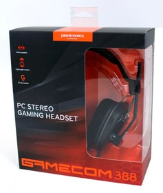 Casques-micro PC GameCom 388, noir