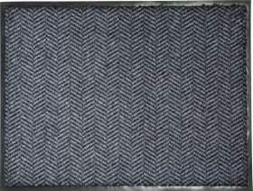 NALDA paillasson 412819004683 Couleur gris foncé Dimensions L: 45.0 cm x P: 75.0 cm Photo no. 1