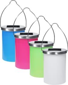 Lampe solaire LED lanterne 4 p. assor.