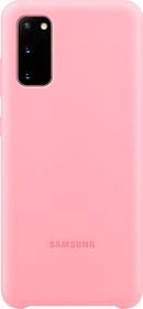 Silicone Hard-Cover Pink Coque Samsung 798656700000 Photo no. 1