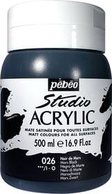 Pébéo High Viscosity Studio 500ml Pebeo 663534271026 Farbe Marsschwarz Bild Nr. 1
