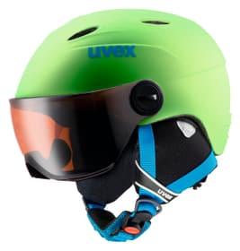 junior visor pro Casco per sport invernali Uvex 461819053561 Colore verde chiaro Taglie 54-56 N. figura 1