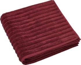 NINA telo da doccia 450870120530 Colore Rosso Dimensioni L: 70.0 cm x A: 140.0 cm N. figura 1