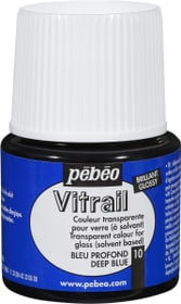 Pébéo Vitrail glossy deep blue 10