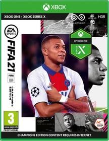 XONE - FIFA 21 Champions Edition Box 785300154008 Bild Nr. 1