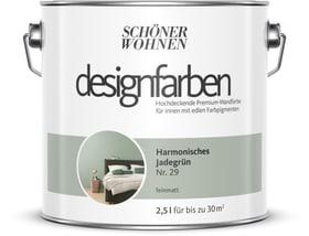 Designfarbe Jadegrün 2,5 l Wandfarbe Schöner Wohnen 660977300000 Inhalt 2.5 l Bild Nr. 1