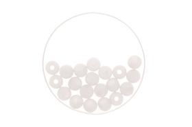 Perle 6mm Polaris matt 20St weiss 608128900000 Bild Nr. 1