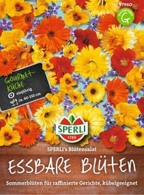 Essbare Blumenmischung Sperli´s Blütensalat Blumensamen Sperli 650177700000 Bild Nr. 1