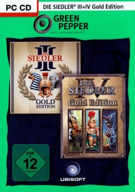 PC - Green Pepper: Die Siedler 3 Gold + Die Siedler 4 Gold Box 785300121650 Photo no. 1