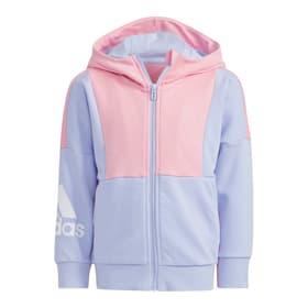 Badge of Sport Hooded Jacket Kapuzenjacke Adidas 472385509838 Grösse 98 Farbe rosa Bild-Nr. 1