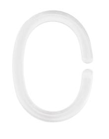 Duschvorhang-Ringe weiss 12er Pack Kleine Wolke 675095000000 Bild Nr. 1
