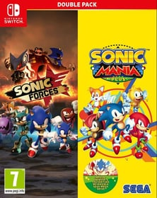 NSW - Sonic Mania Plus and Sonic Forces Double Pack F Box 785300139889 Photo no. 1