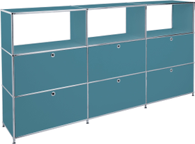FLEXCUBE Buffet haut 401814930366 Dimensions L: 227.0 cm x P: 40.0 cm x H: 118.0 cm Couleur Pétrole Photo no. 1