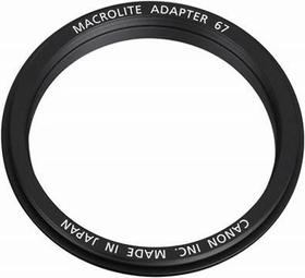 67C al flash macro Anello adattatore Canon 785300123922 N. figura 1