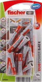 DUOPOWER 8 x 40 Universaldübel fischer 605437200000 Bild Nr. 1