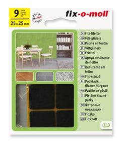 Filzgleiter 3 mm / 25 x 25 mm 9 x Fix-O-Moll 607068500000 Bild Nr. 1