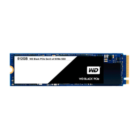 WD Black PCIe SSD intern 512GB M.2 2280