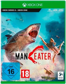 XBOX - Maneater F Box 785300156151 Photo no. 1