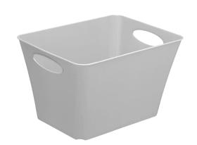 LIVING Box 5l, Kunststoff (PP) BPA-frei, hellgrau Korb Rotho 604058400000 Bild Nr. 1