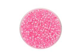 Rocailles Silbereinzug rosa 2.6mm 17g 608135100000 Bild Nr. 1