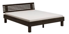 WOODLINE Bett HASENA 403273100000 Grösse B: 160.0 cm x T: 200.0 cm Farbe Buche schoko Bild Nr. 1