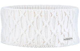 Bandeau pour femme Bandeau pour femme Areco 460524699910 Couleur blanc Taille One Size Photo no. 1