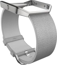 Blaze Bracelet en cuir Gris Small Bracelet Fitbit 785300131141 Photo no. 1