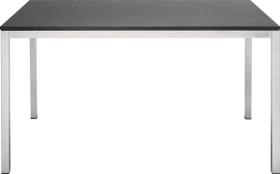 Granittisch LOCARNO, Supreme black, 140 cm