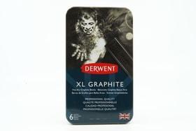 6 Derwent XL Grafite in scatola di metallo Pebeo 667039800000 N. figura 1