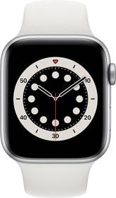 Watch Series 6 GPS 44mm Silver Aluminium White Sport Band Smartwatch Apple 785300155472 Photo no. 1