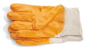 Nitril-Handschuh Gr. 10 glatt gelb.
