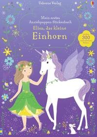 Anziehpuppen-Einhorn Stickerbuch 782492100000 Bild Nr. 1