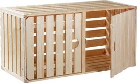 Cassetta in legno A1/1 con porta HolzZollhaus 643262000000 N. figura 1