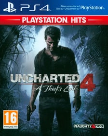PS4 - PlayStation Hits: Uncharted 4 - A Thiefs End Box 785300147794 Bild Nr. 1
