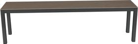 LOCARNO, Gestell Anthrazit, Platte Keramik Gartenbank 753193120082 Grösse L: 200.0 cm x B: 35.0 cm x H: 45.0 cm Farbe Basalt Bild Nr. 1