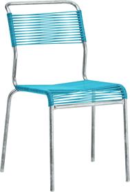 SÄNTIS Chaise Schaffner 408009600044 Couleur Turquoise Dimensions L: 40.0 cm x P: 52.0 cm x H: 84.0 cm Photo no. 1