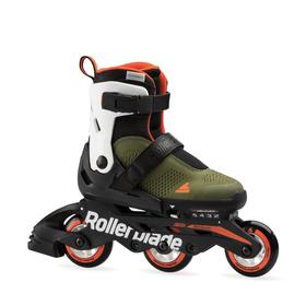 Microblade Free 3WD Kids-Inline Rollerblade 466512428060 Farbe GRÜN Grösse 28-32 Bild-Nr. 1