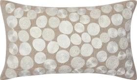 GUILLERMA Housse de coussin décoratif 450689740374 Couleur Beige Dimensions L: 50.0 cm x H: 30.0 cm Photo no. 1
