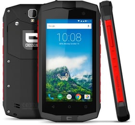 Trekker-M1 Core 16GB Dual-SIM schwarz/rot