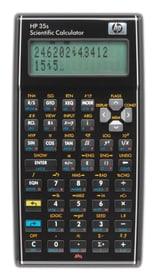 35S Scientific HP-35SUUZ DE/IT Taschenrechner HP 785300125130 Bild Nr. 1