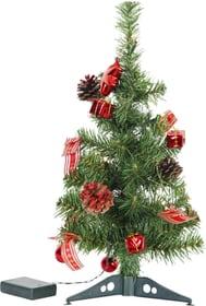 Tannenbaum rote Deko Leuchtbaum Star Trading 613201200000 Bild Nr. 1