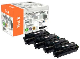 Multipack HP Nr. 201X (CF400-3X) M/Y/BK/C Cartouche de toner Peach 785300154262 Photo no. 1