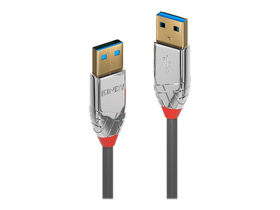 USB 3.0 Typ A Câble, Cromo Line 3m Câble LINDY 785300141584 Photo no. 1