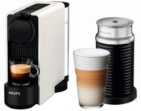 Nespresso Essenza Plus & Aeroccino Weiss XN5111 Kapselmaschine Krups 718001400000 Bild Nr. 1